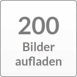 200 Bilder aufladen