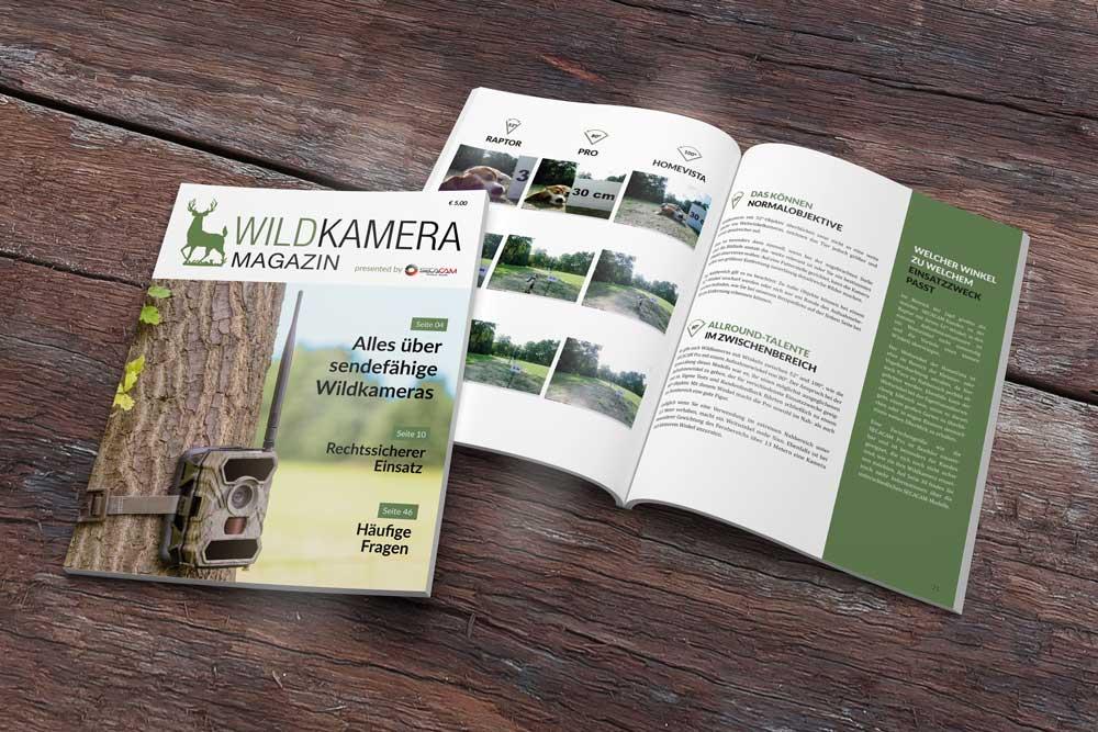 Magazin auf Holz