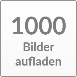1000 Bilder aufladen
